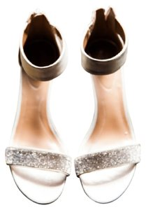 Style & Co Silver Sparkle Evening Sandals Formal Size US 8.5 Regular (M, B)