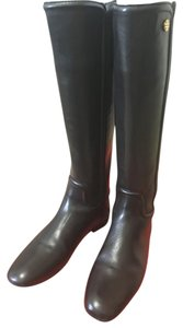 Tory Burch Black Leather Blk Boots