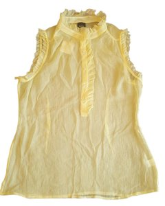 Saks Fifth Avenue Top Tender yellow