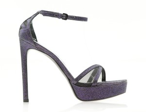 Stuart Weitzman Tizyou Nudist Purple Sandals