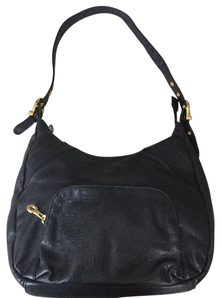 Stone Mountain Accessories Soft Leather Purse Black Hobo Bag Tradesy