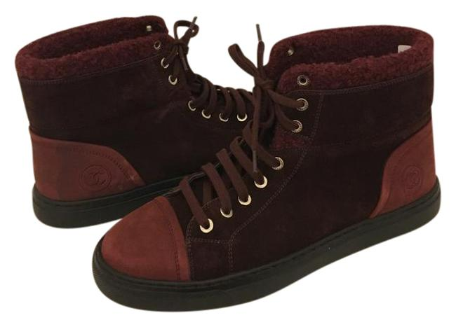 Item - Burgundy Ankle Boots/Booties Size EU 40.5 (Approx. US 10.5) Wide (C, D)