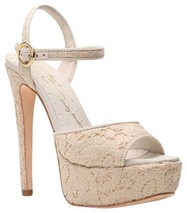 Alice + Olivia Natural Pumps