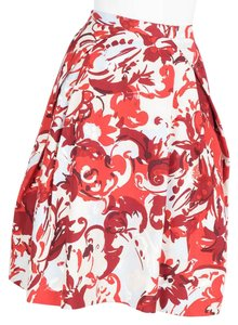 Carolina Herrera Skirt red & white