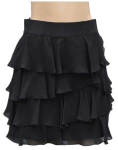 MILLY Lined Skirt Black