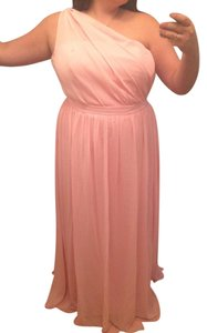 Alfred Angelo Tea Rose 7243 Traditional Bridesmaid/Mob Dress Size 16 (XL, Plus 0x)