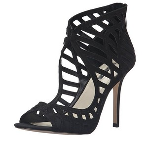 BCBGeneration Strappy Leather Black Sandals