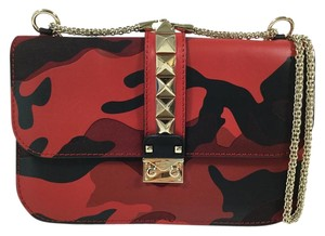 Valentino Rubin Rosso Red Scarlet Shoulder Bag