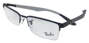 Ray-Ban RAY-BAN Rx-able TECH SERIES Eyeglasses RB 8412 2503 Black-Carbon Fiber