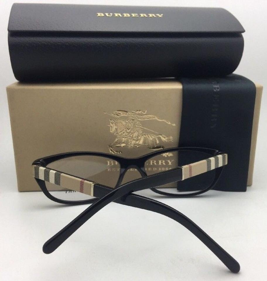 938072a5b97c Burberry New BURBERRY Eyeglasses B 2167 3001 54-16 140 Black Frame w  Plaid.  1234567891011
