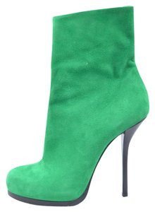 Balenciaga Kelly Green Boots