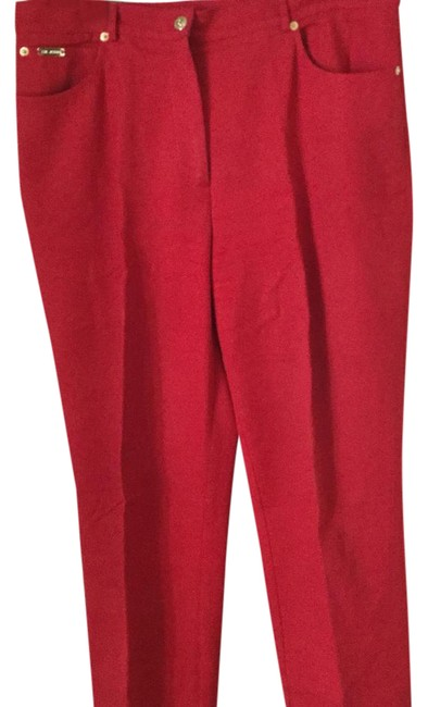 Item - Tomato Red Five Pocket Boot Cut Jeans Size 16 (XL, Plus 0x)
