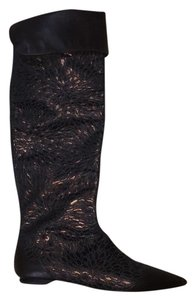 KATHRYN AMBERLEIGH copper/chocolate Boots