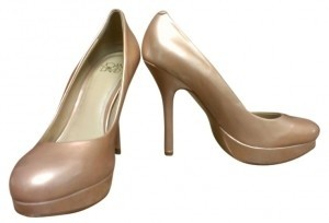 Joan & David Nude/ Bronze Pumps