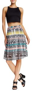 Romeo & Juliet Couture Pleated Multi-colored New Skirt Multi