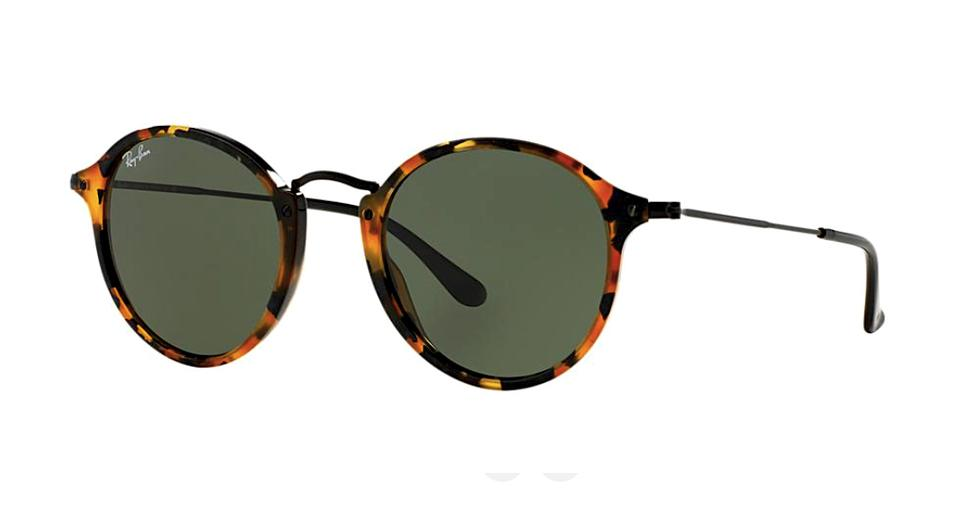 6838a615619 Ray-Ban Havana Round Ray Ban Sunglasses - RB 2447 1157 - FREE SHIPPING  Image ...