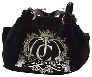 Juicy Couture Satchel in Black and White