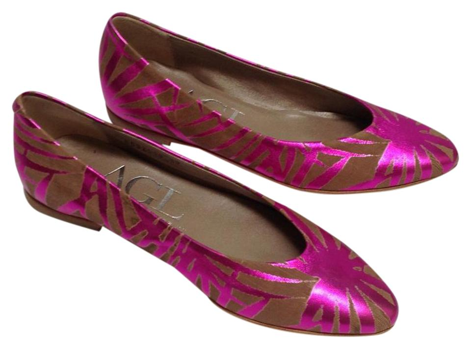 woman Attilio Giusti Leombruni Pink/Brown price Flats selling price Pink/Brown 39b5a2