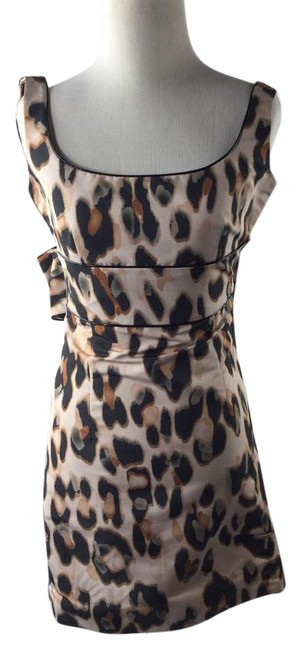 Preload https://item1.tradesy.com/images/red-valentino-sleeveless-leopard-print-sheath-above-knee-cocktail-dress-size-2-xs-2179620-0-2.jpg?width=400&height=650