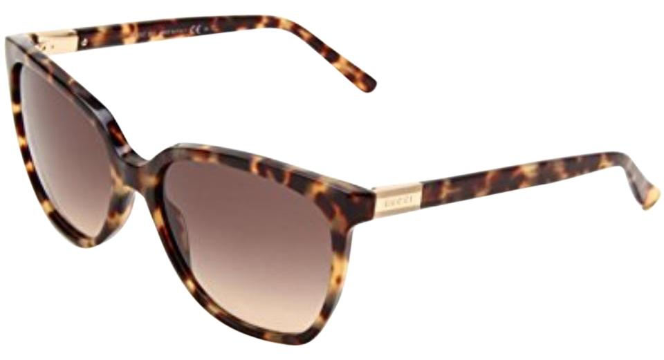bddef1fd972 Gucci Light Havana Brown Gg 3502 S 4gxed Sunglasses - Tradesy