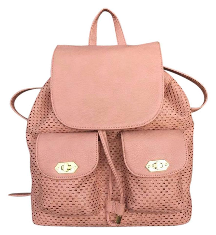 182eafec55012 Steve Madden Perfect Blush Faux Leather Backpack