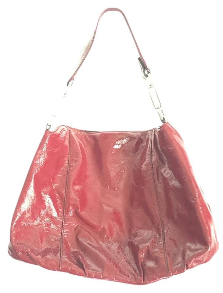 fbb142be2e Calvin Klein Patent Leather Patent Leather Shoulder Bag Image 0 ...