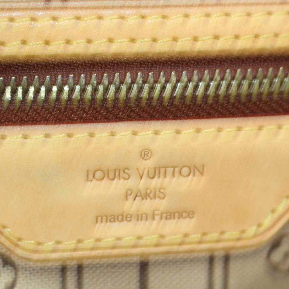 9a523e739aae Louis Vuitton Neverfull Mm Monogram M40156 Tote 10561 Brown Leather  Shoulder Bag - Tradesy