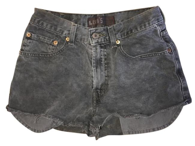 Item - Gray Denim 16 Slim Juniors Nwot Never Worn High Waisted and Super Cute with Casual Tops Or Can Dress Shorts Size Petite 0 (XXS)