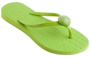 Lindsay Phillips Flip Flop Flipflop Green Sandals