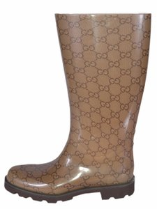49d5a4d7 Gucci Rain Boots - Up to 70% off at Tradesy