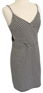 H&M Cut-out Pattern Bodycon Textured Dress
