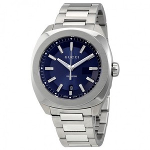 Gucci GG2570 XL Dark Blue Dial Men's Watch