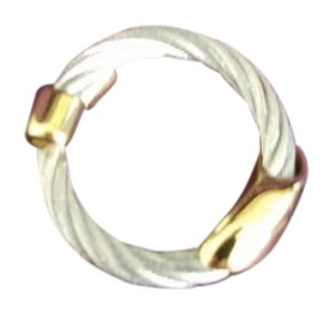 Charriol CHARRIOL Geneve Stainless Steel Ring Size 6