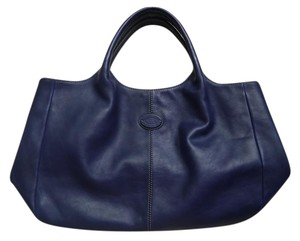 Tod's Tote in Royal Blue
