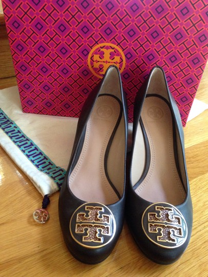 Tory Burch Lowell Brown Wedges