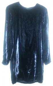 Elizabeth Wayman Mini Party Holiday Velvet Dress