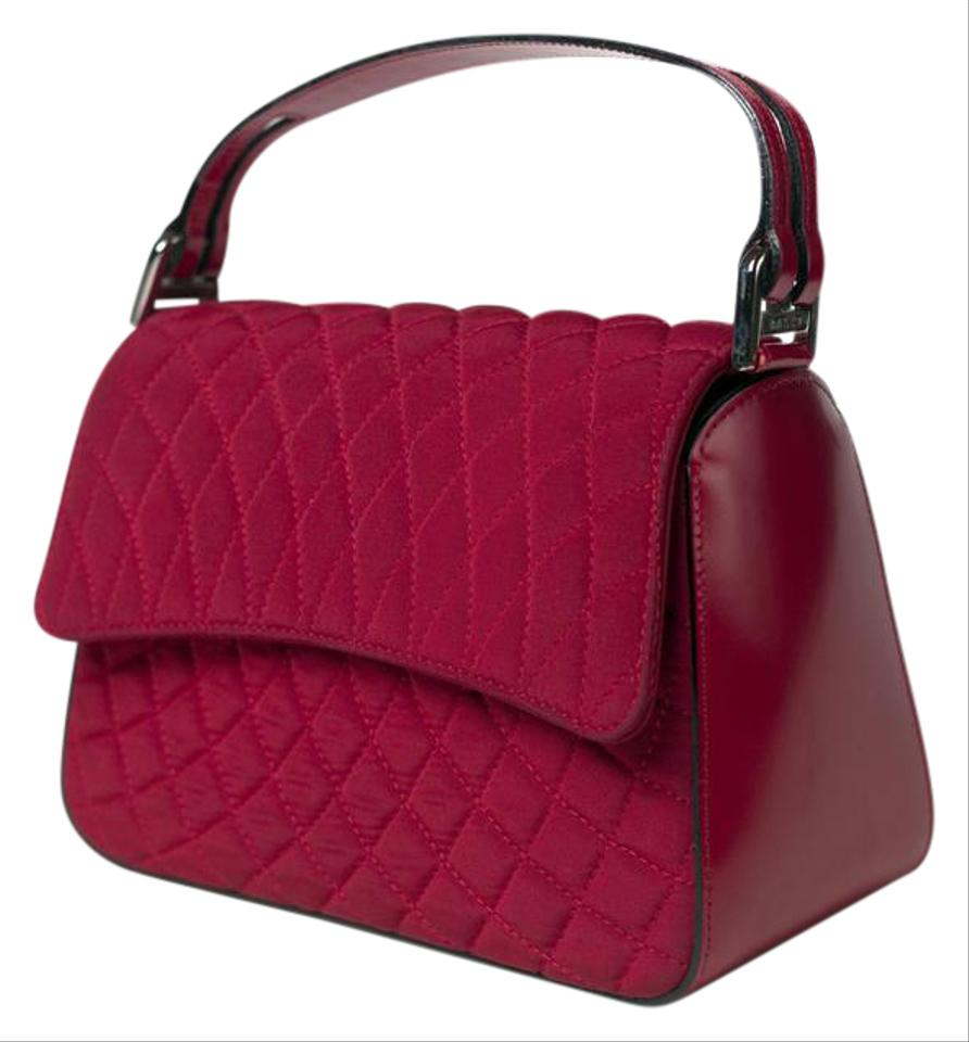 Bally Quilted Leather Prada Chanel Baguette