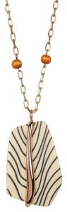Vince Camuto Embossed Pendant Necklace WJN051001