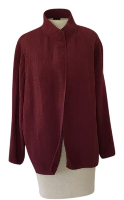 Item - Burgundy Jacket Size 8 (M)