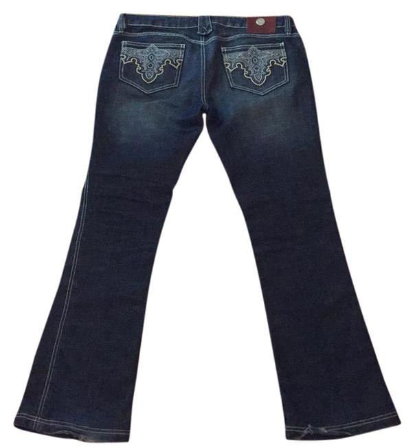 Item - Distressed #sx002 Style #wpn 2836 Boot Cut Jeans Size 31 (6, M)