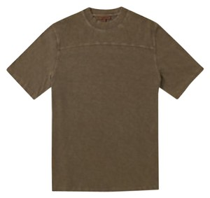 YEEZY Kayne West Gear Olive Green Fashion Gifts For Him Street Style T Shirt brown