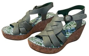 FLY London green Sandals
