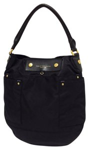 Marc by Marc Jacobs Nylon Leather Trim Magnetic Snap Cross Body Bag