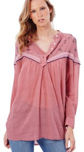 Free People Comfortable Top Rose