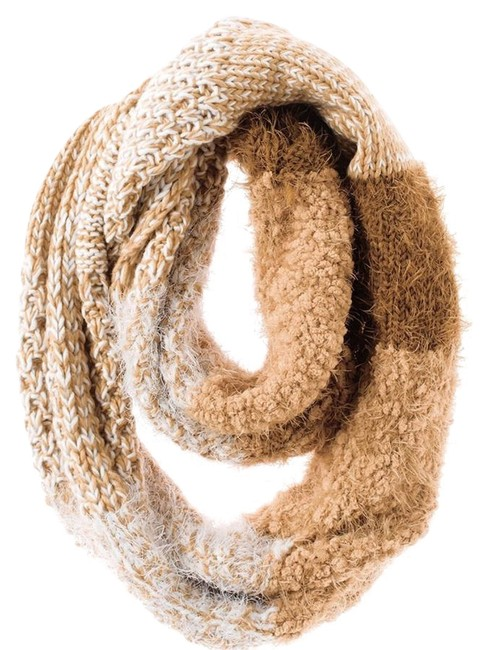 """Item - An Incredibly Soft Textural Adds That Certain """"Something Fluffy"""" To The Outfit Equation. Dimensions: 12"""" X 30"""". Scarf/Wrap"""