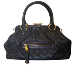 Marc Jacobs Pre-owned Gold-tone Hardware Satchel in Black