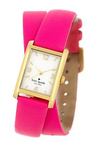 Kate Spade kate spade new york women's cooper leather wrap strap watch