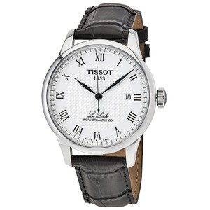 Tissot Le Locle Powermatic 80 Men's Casual Watch Style Analog Automatic