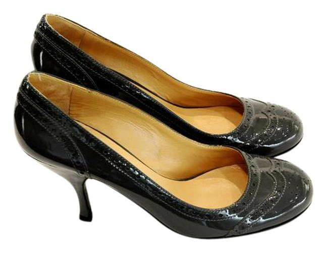 Item - Grey Patent Pumps Size EU 39 (Approx. US 9) Regular (M, B)