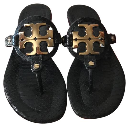 Tory Burch Black with Gold Hardware